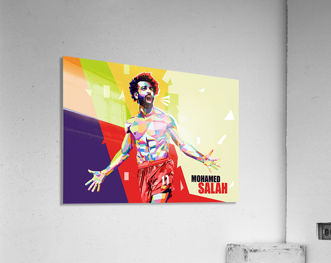 Mohamed salah  Acrylic Print