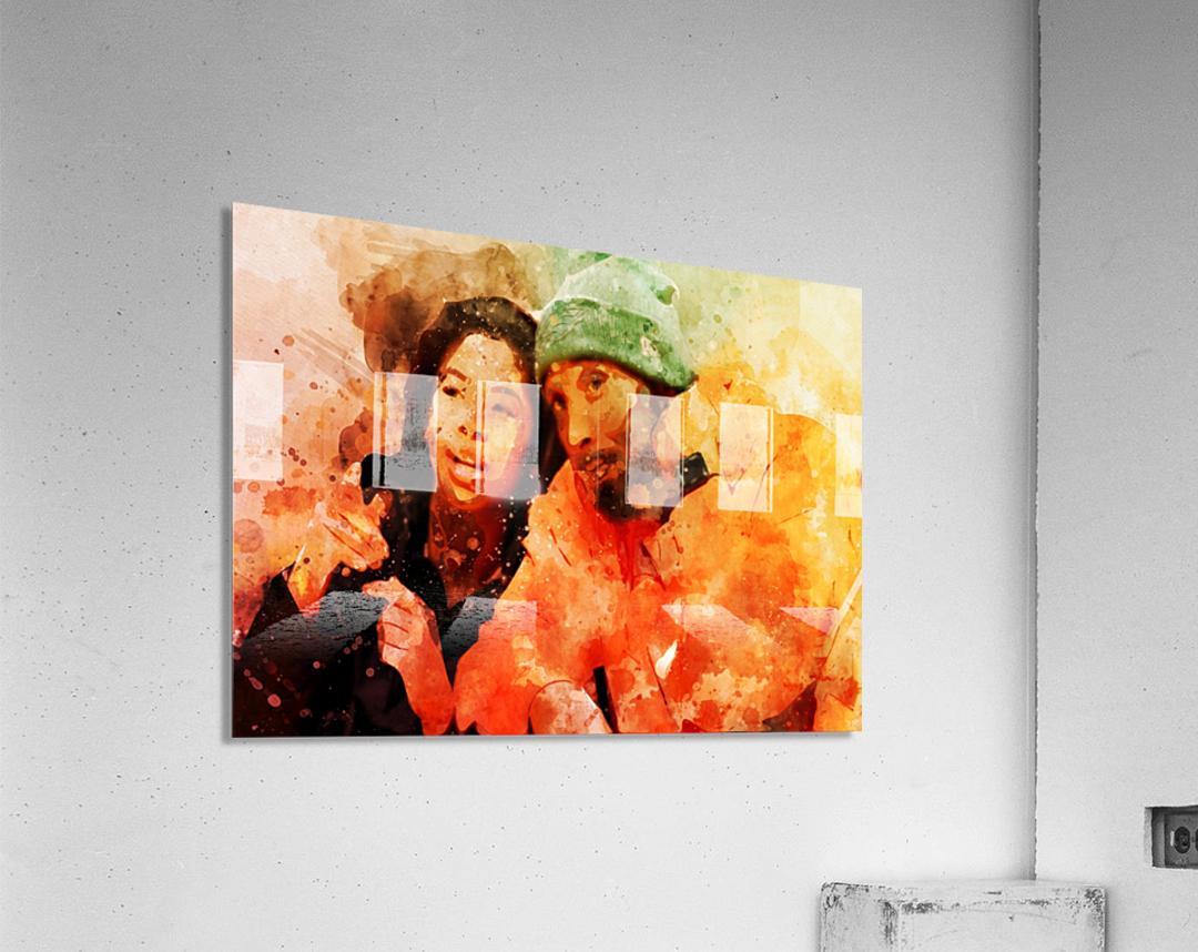 kobe and gianna bryant  Acrylic Print