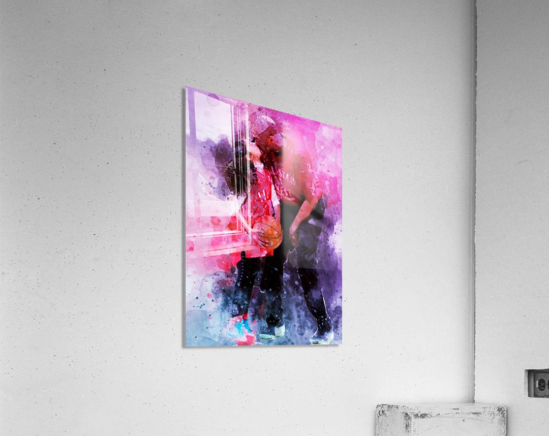 Gianna and kobe bryant  Acrylic Print