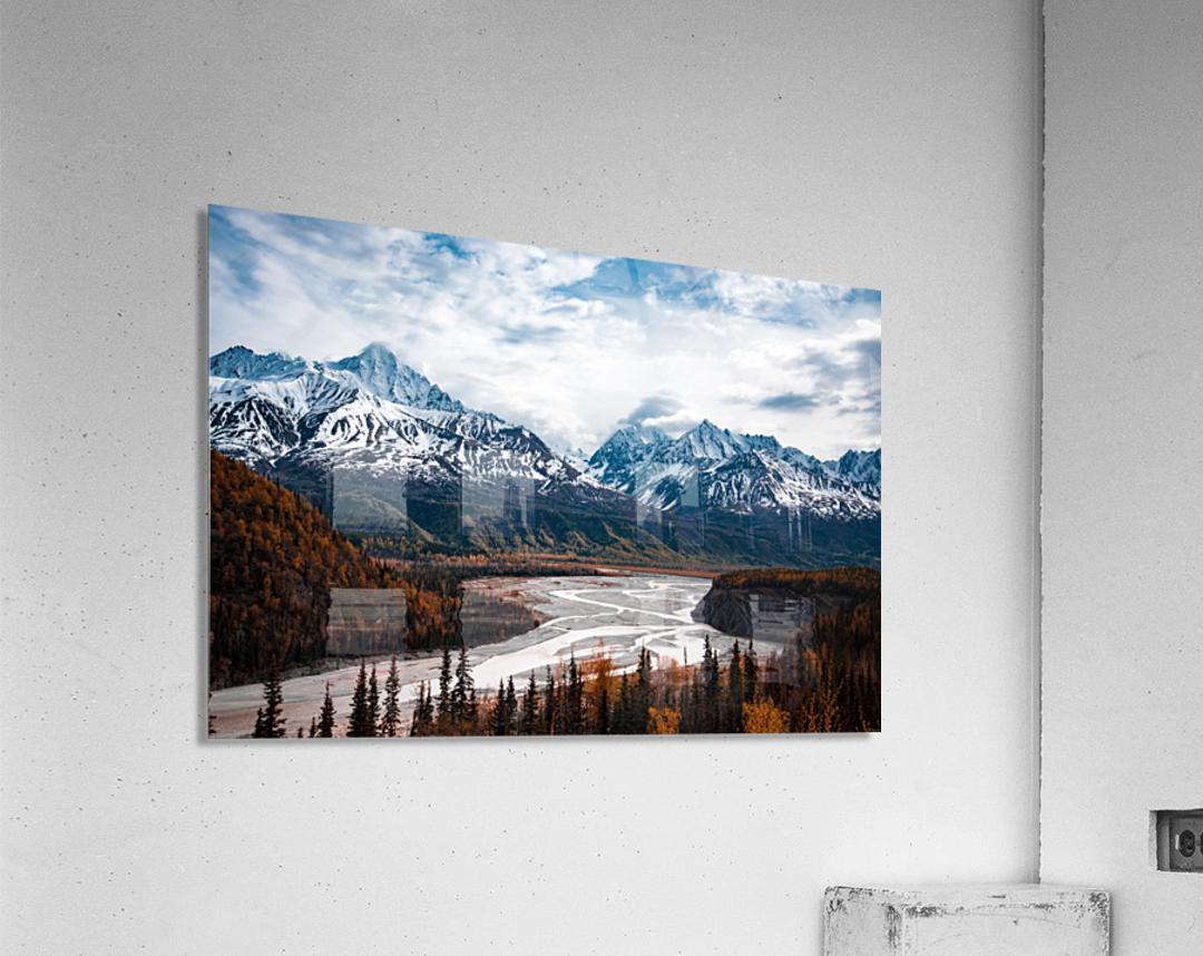 Autumn Landscape  Impression acrylique