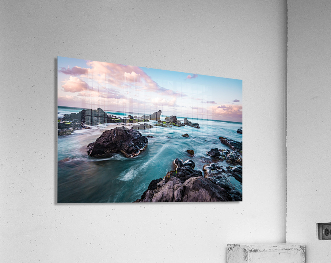 Pastel Waters  Acrylic Print