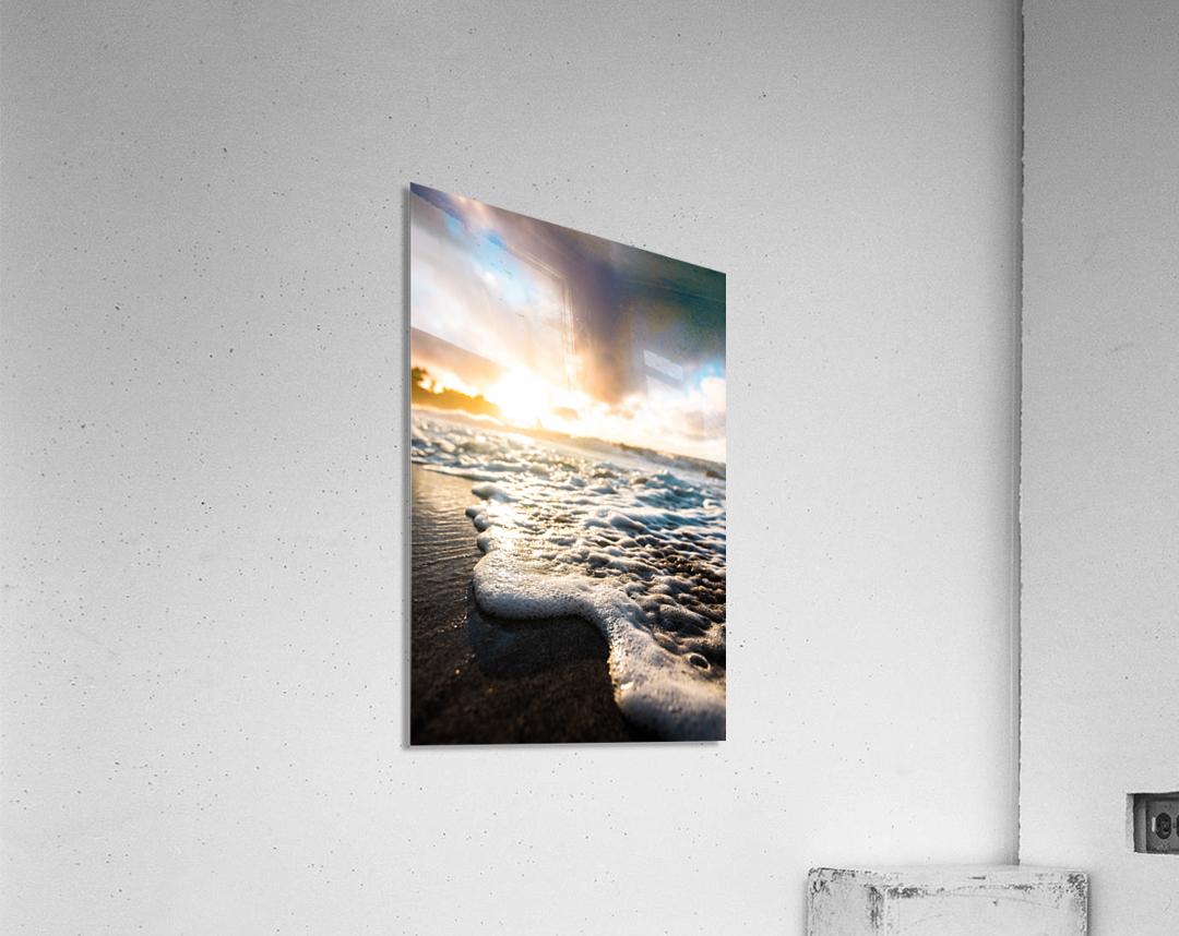 Seafoam Sunrise  Acrylic Print