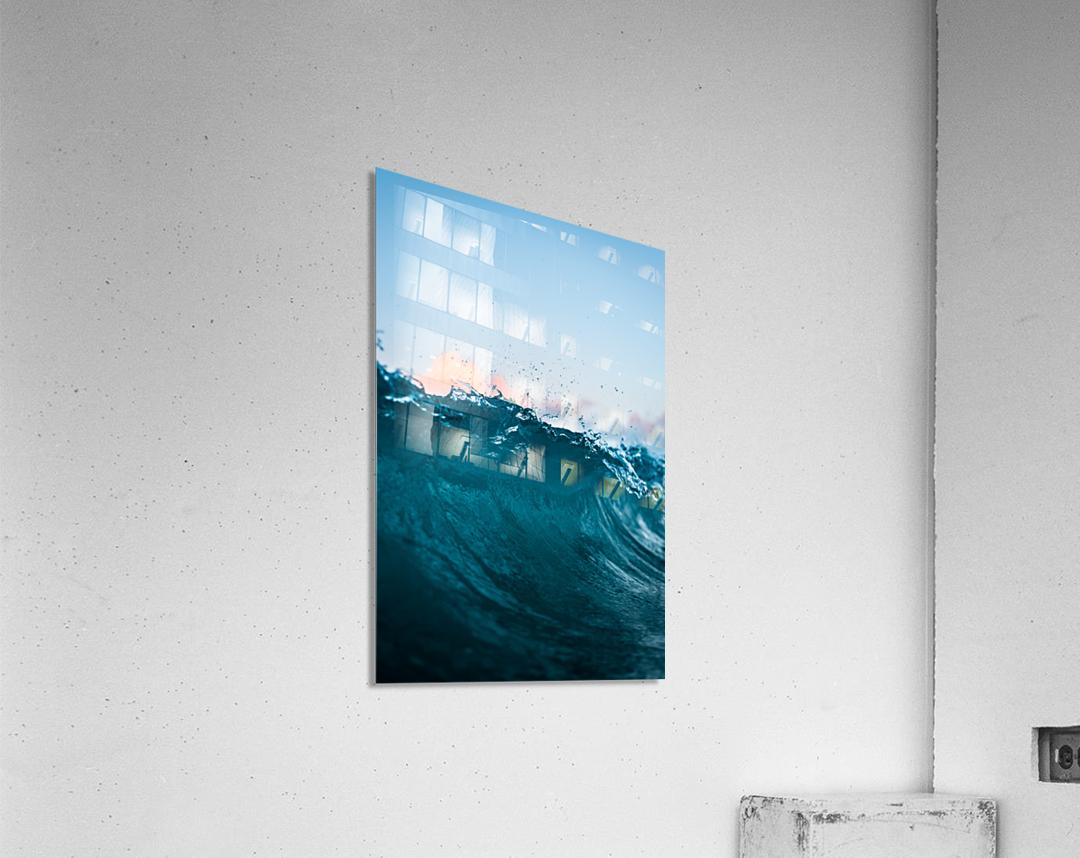 Crest  Acrylic Print