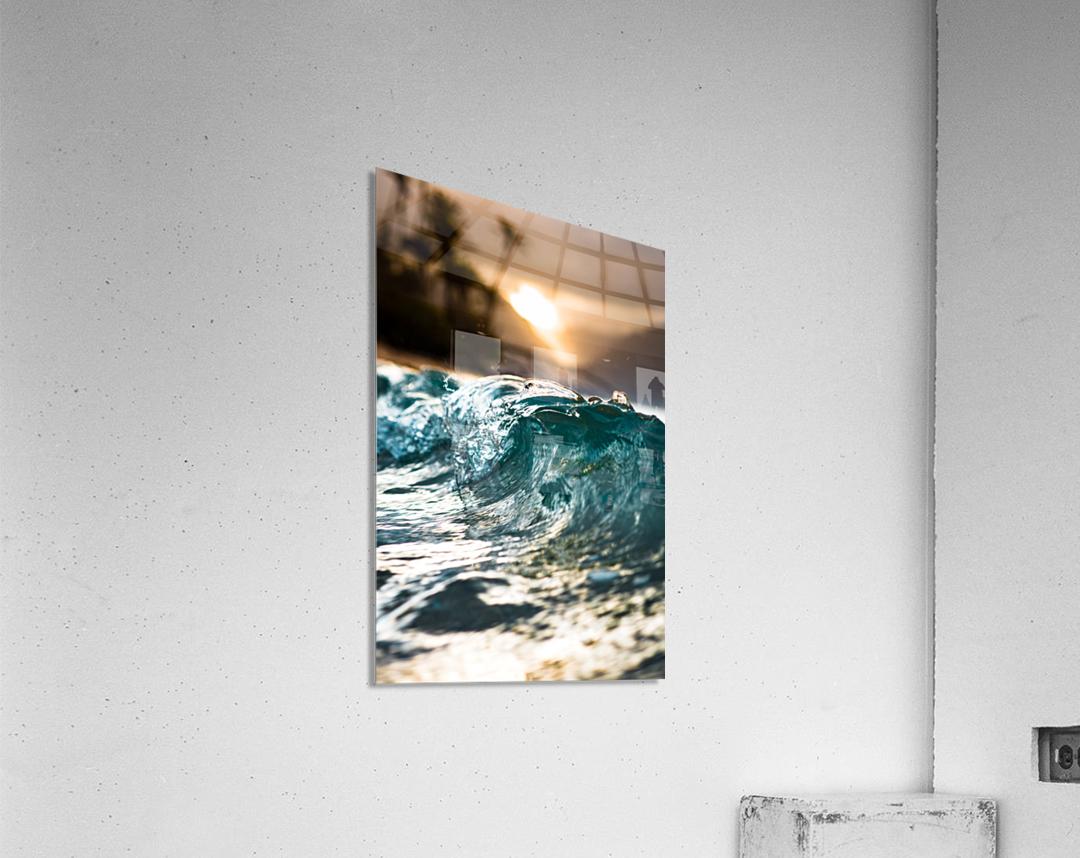 Glassy Wave  Acrylic Print