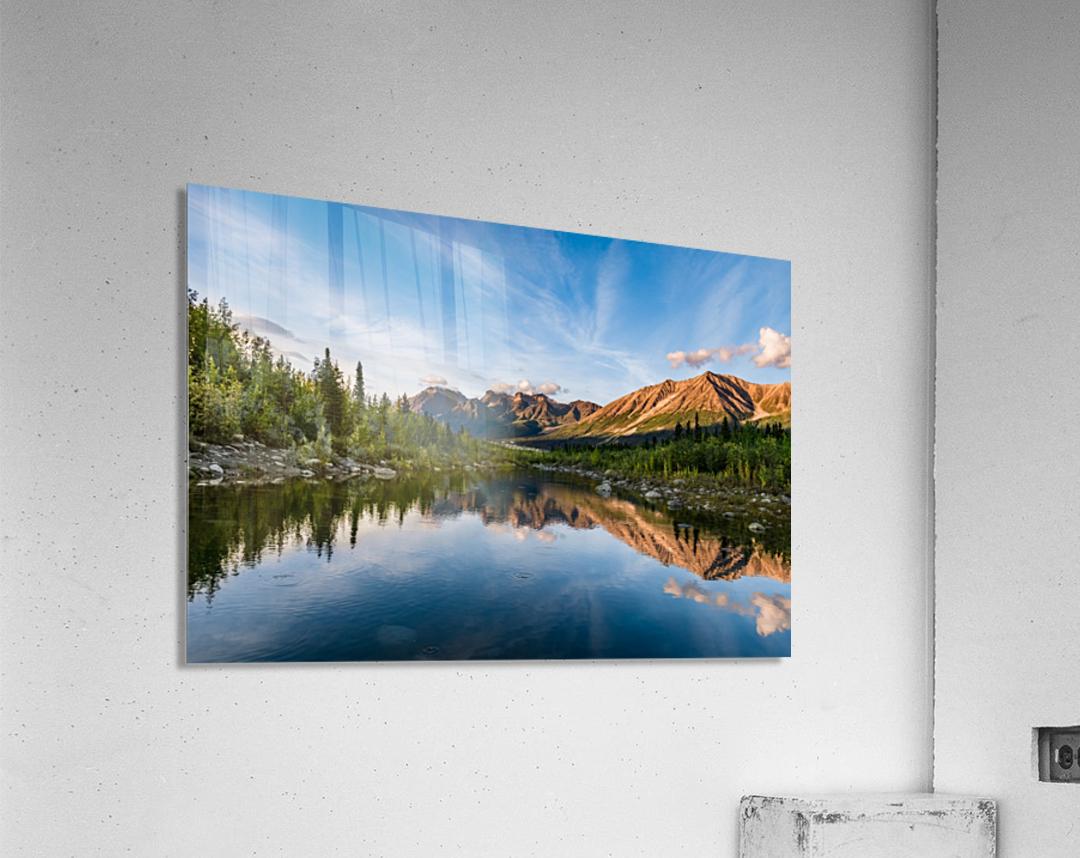 Alaskan Reflection  Acrylic Print