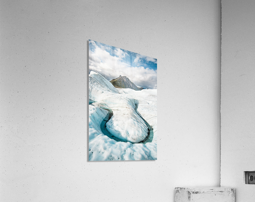 Cold Journey  Acrylic Print