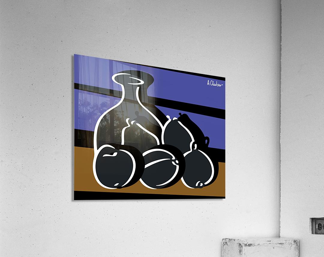 Still Life with a Vase  Acrylic Print
