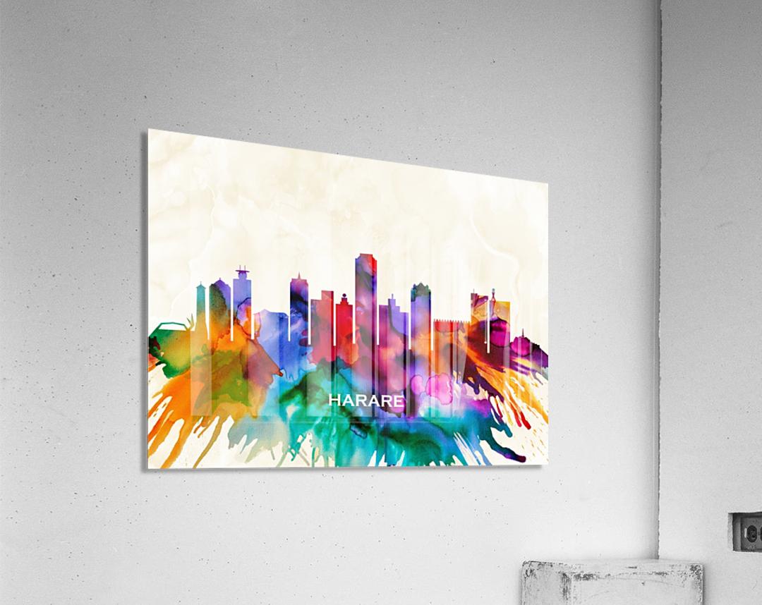Harare Skyline  Acrylic Print