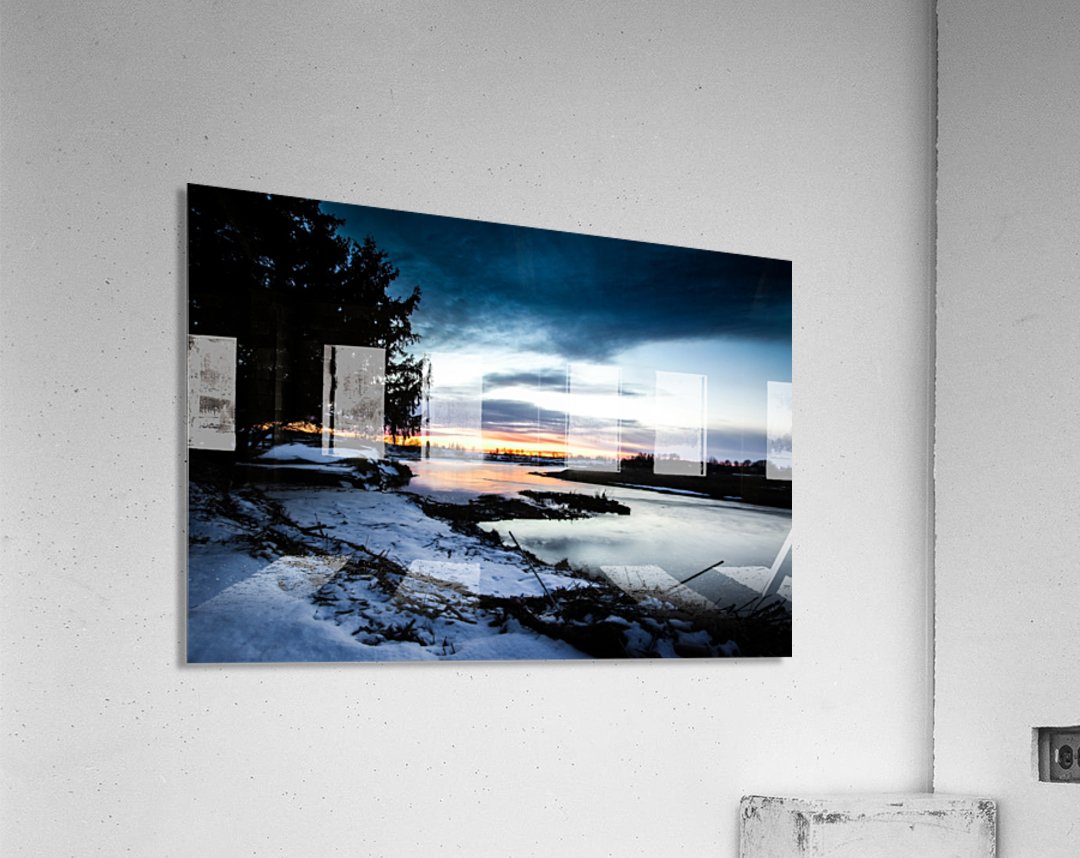 The Nith - Post Sunset  Acrylic Print