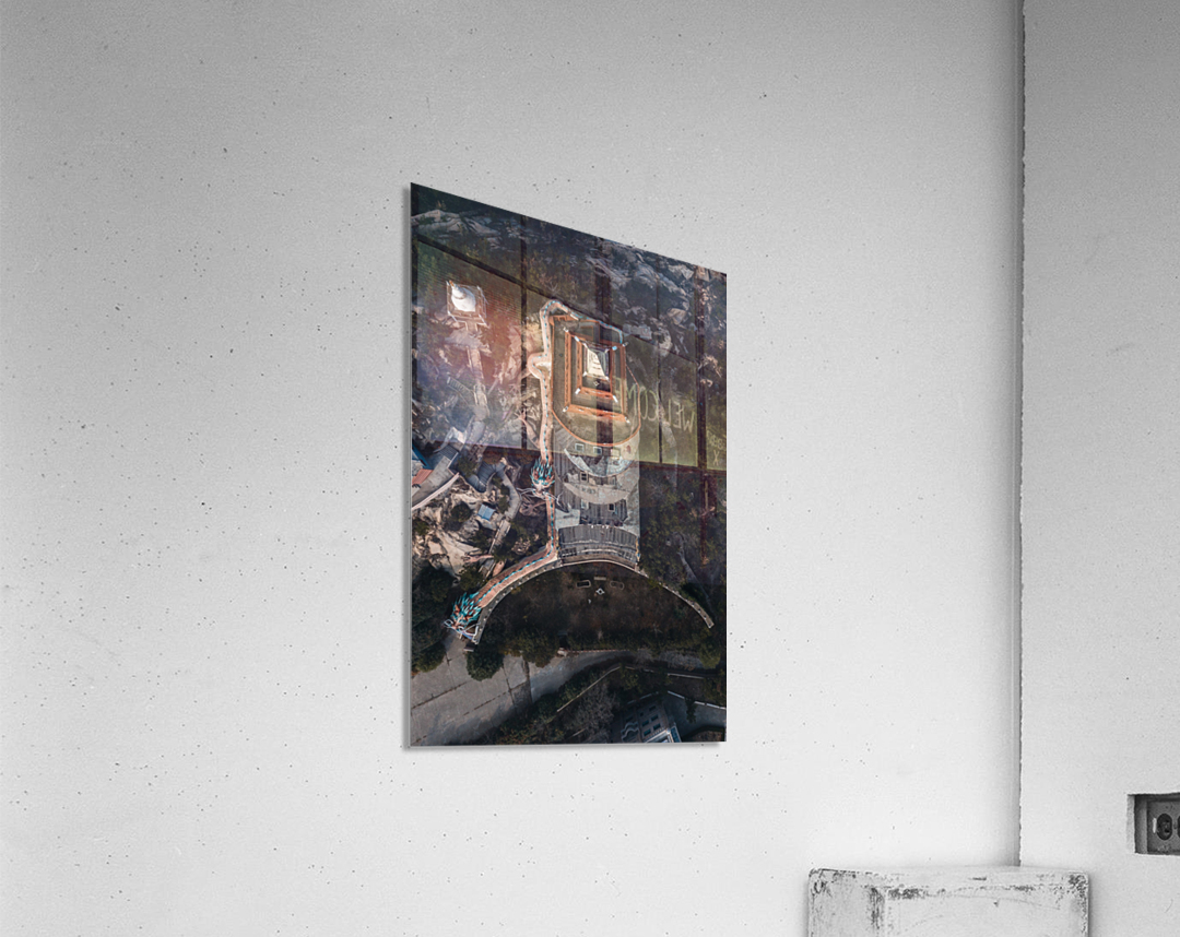 Abandoned Dragon Hotel  Acrylic Print