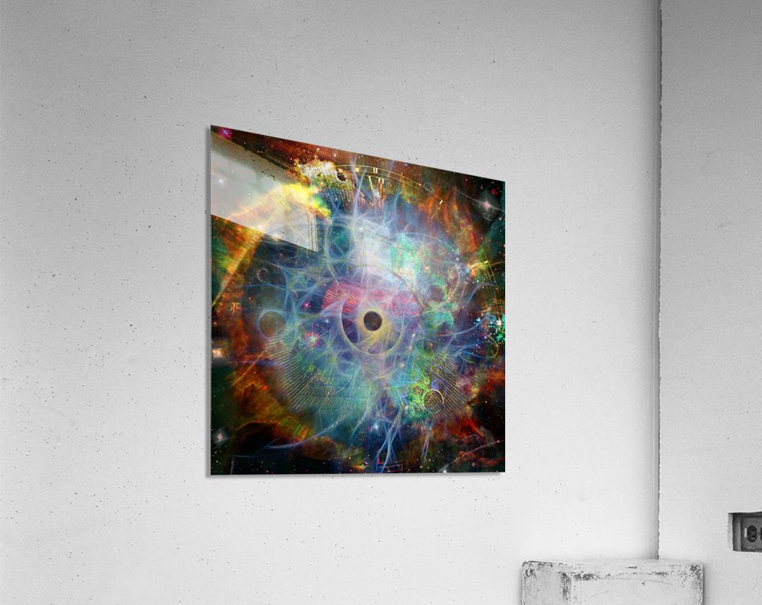 The Eye of Time  Acrylic Print