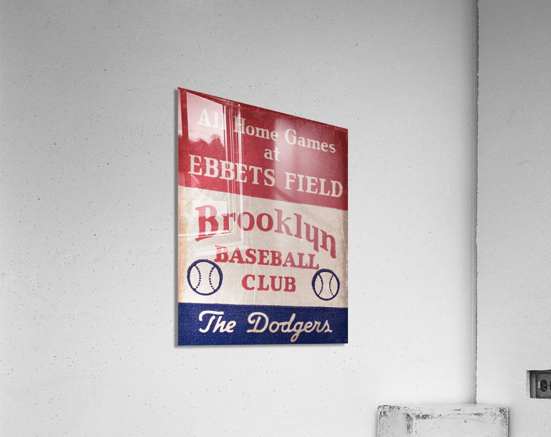 1939 Brooklyn Dodgers  Acrylic Print