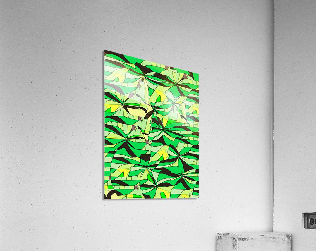 Yellow Fields  Acrylic Print