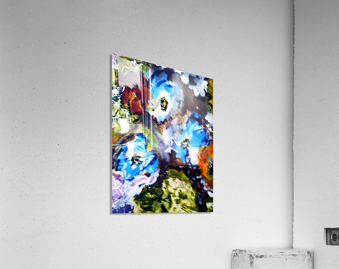 Primary Blue1  Acrylic Print