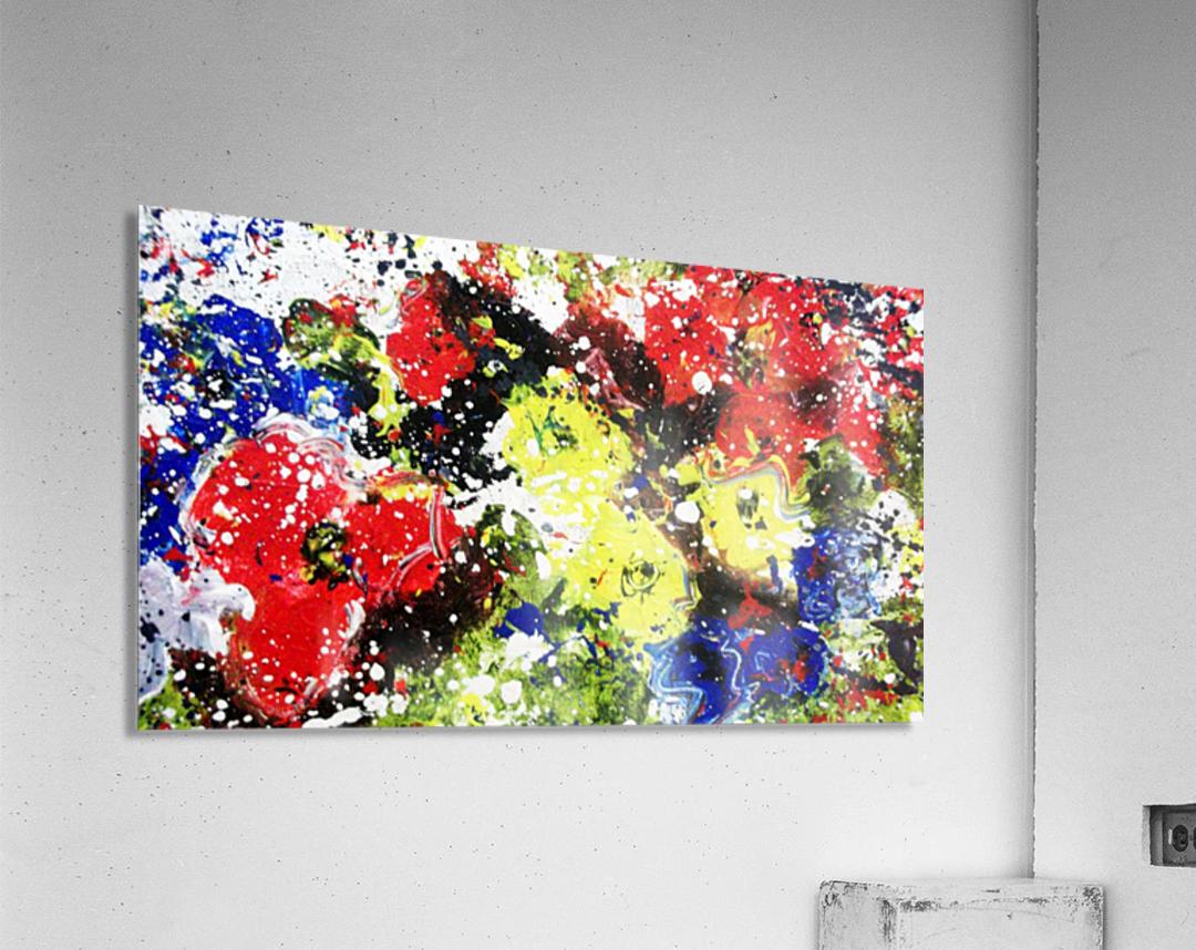 Primary Blossom  Acrylic Print