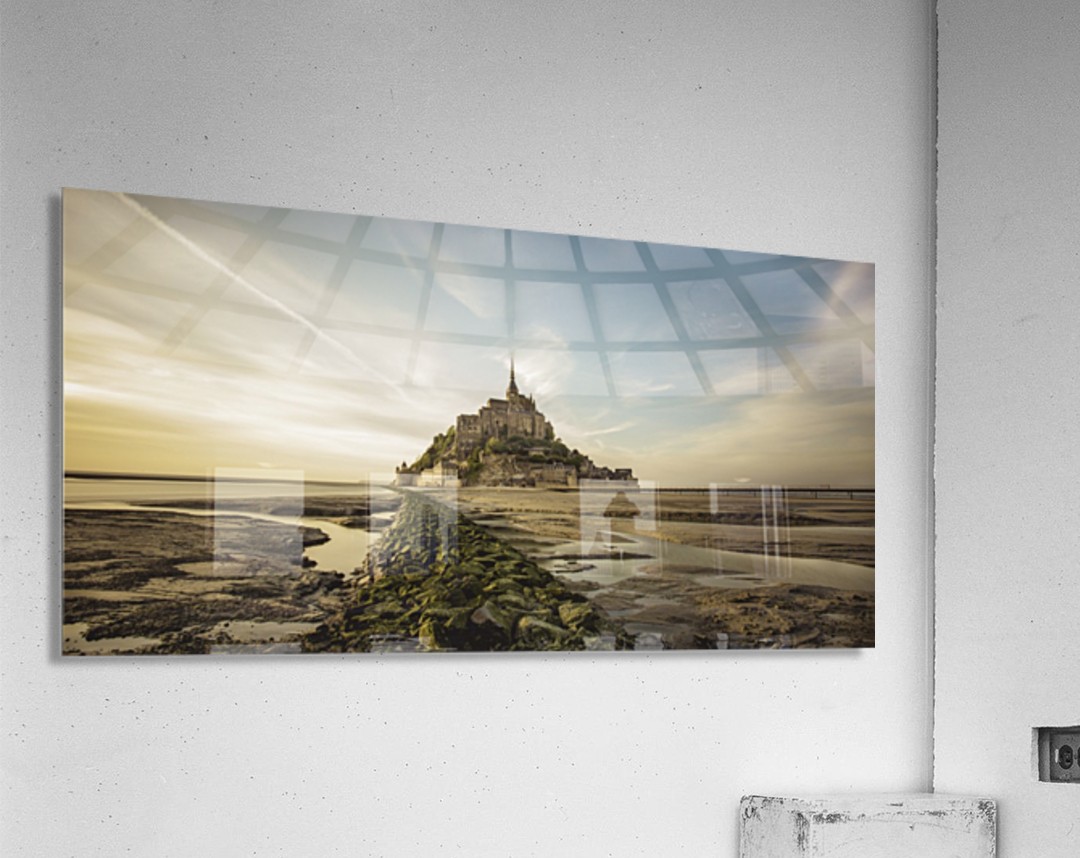 Tides of Normandie  Acrylic Print