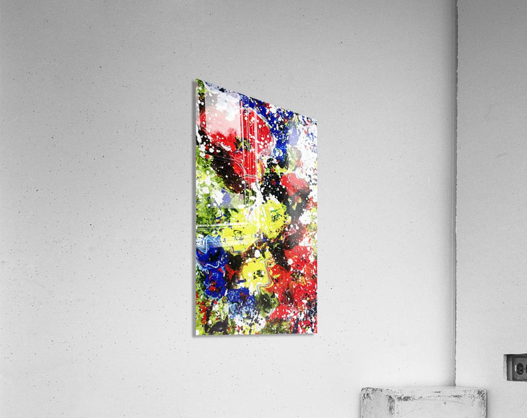 Primary Blossom 1  Acrylic Print