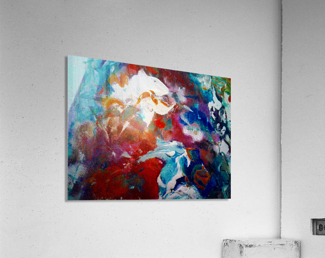 Fishbowl 20160822  Acrylic Print