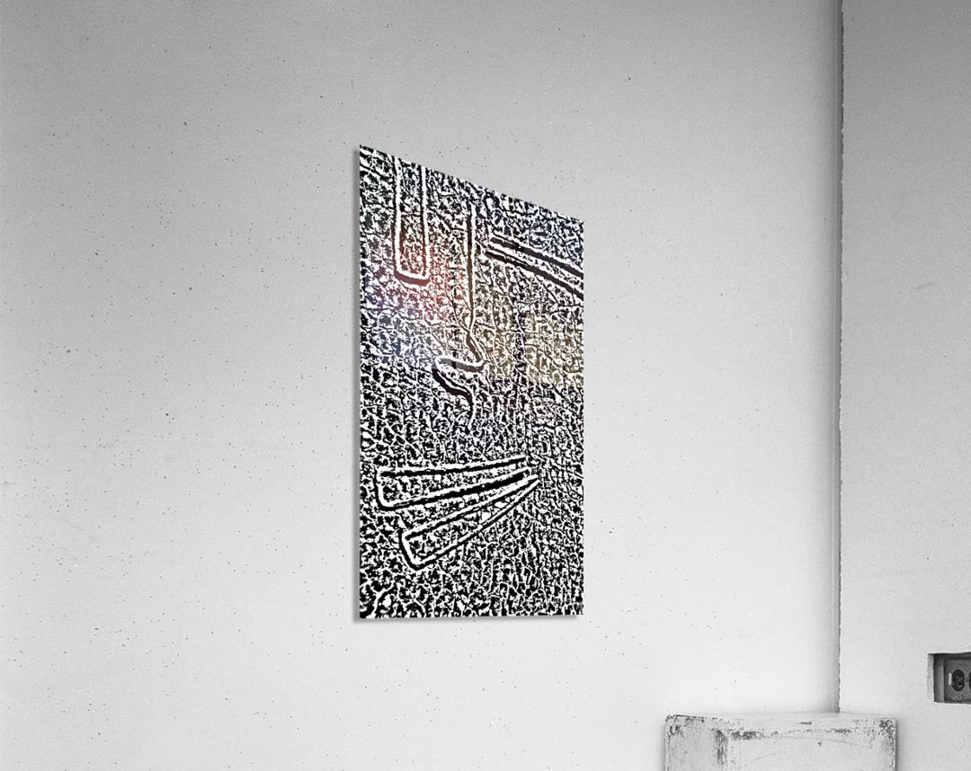 Hello.  Acrylic Print