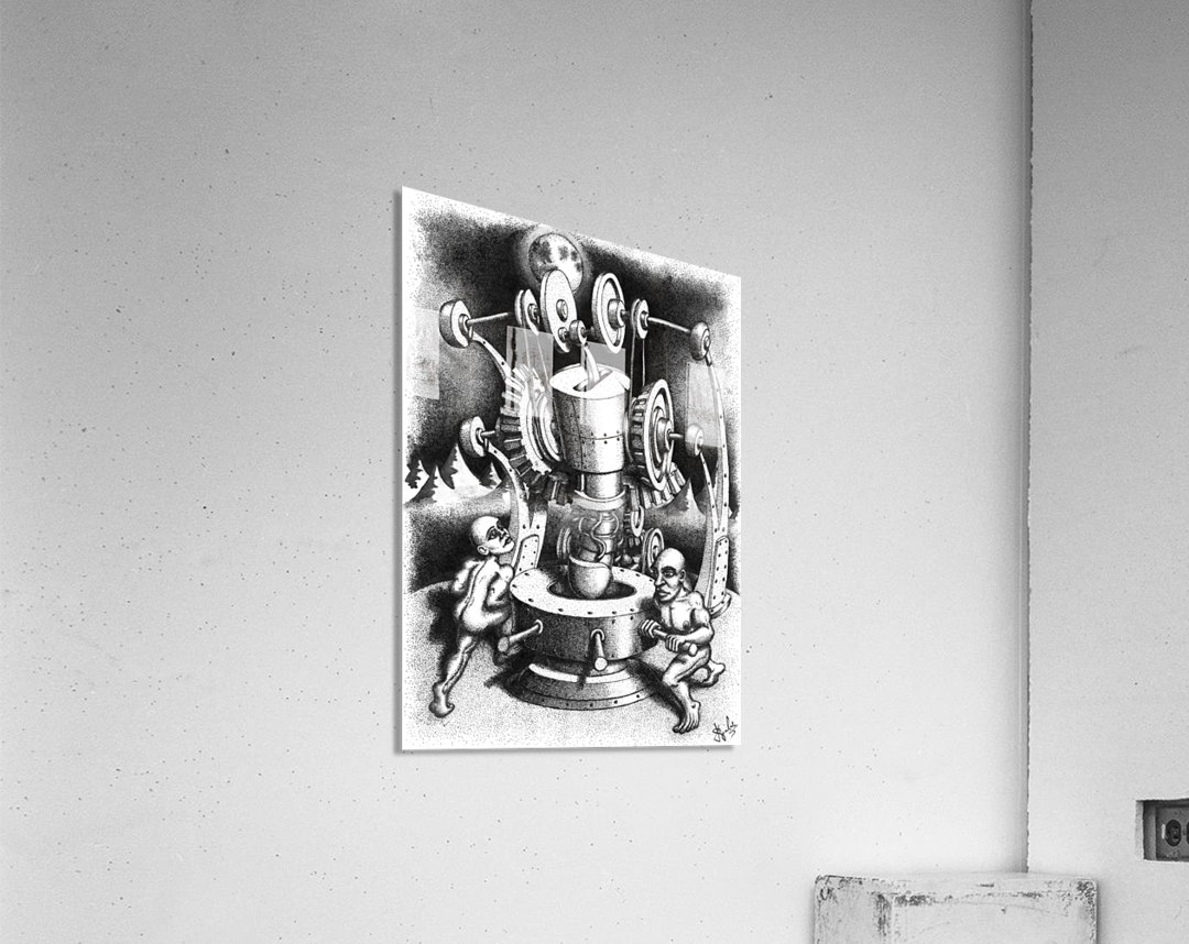 WES  Acrylic Print