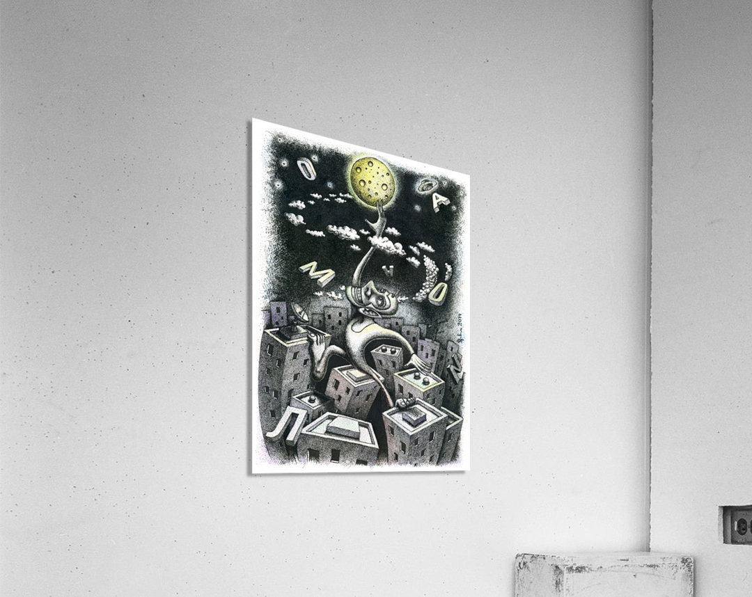 Somnambulist  Acrylic Print