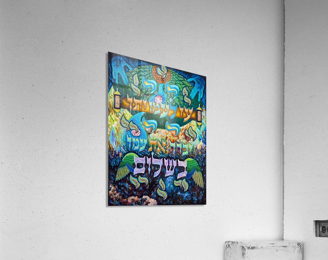 BNC1997-023  Impression acrylique