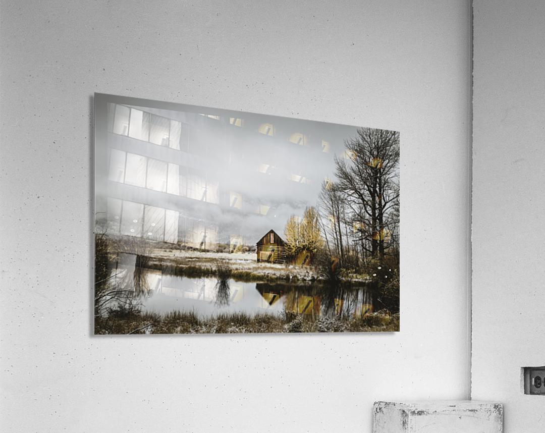 The Cabin  Acrylic Print