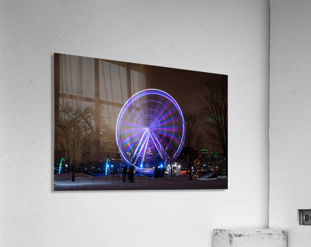 The ferris wheel  Acrylic Print