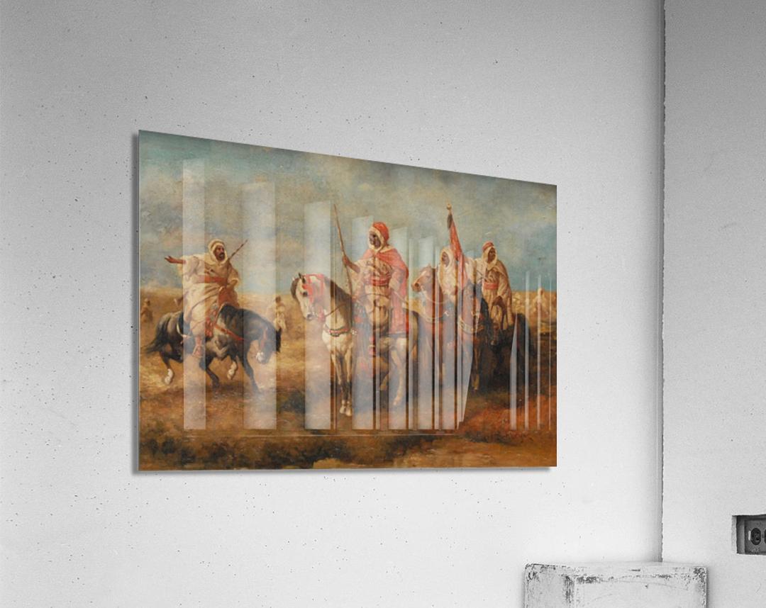 Bedouins on Horseback  Acrylic Print