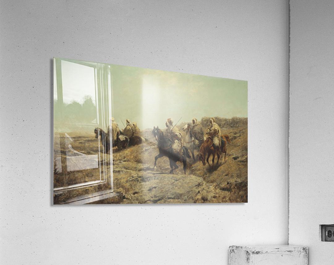 Arabische Krieger  Acrylic Print