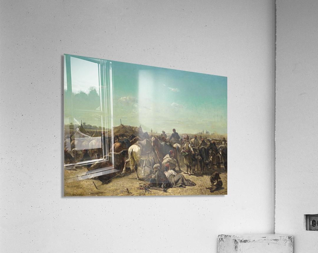 An Ottoman encampment  Acrylic Print