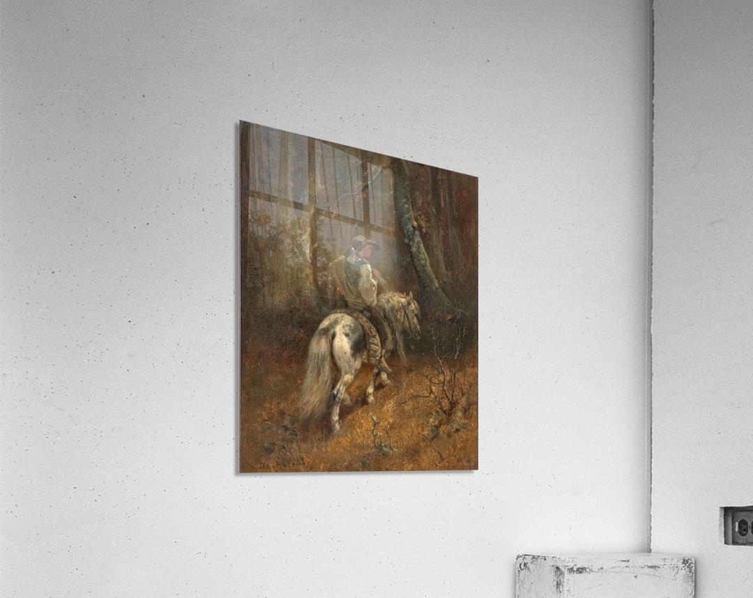 Reiter im Wald  Acrylic Print