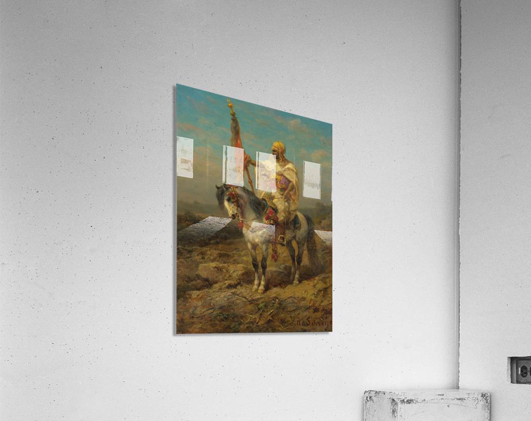 Arab rider  Acrylic Print