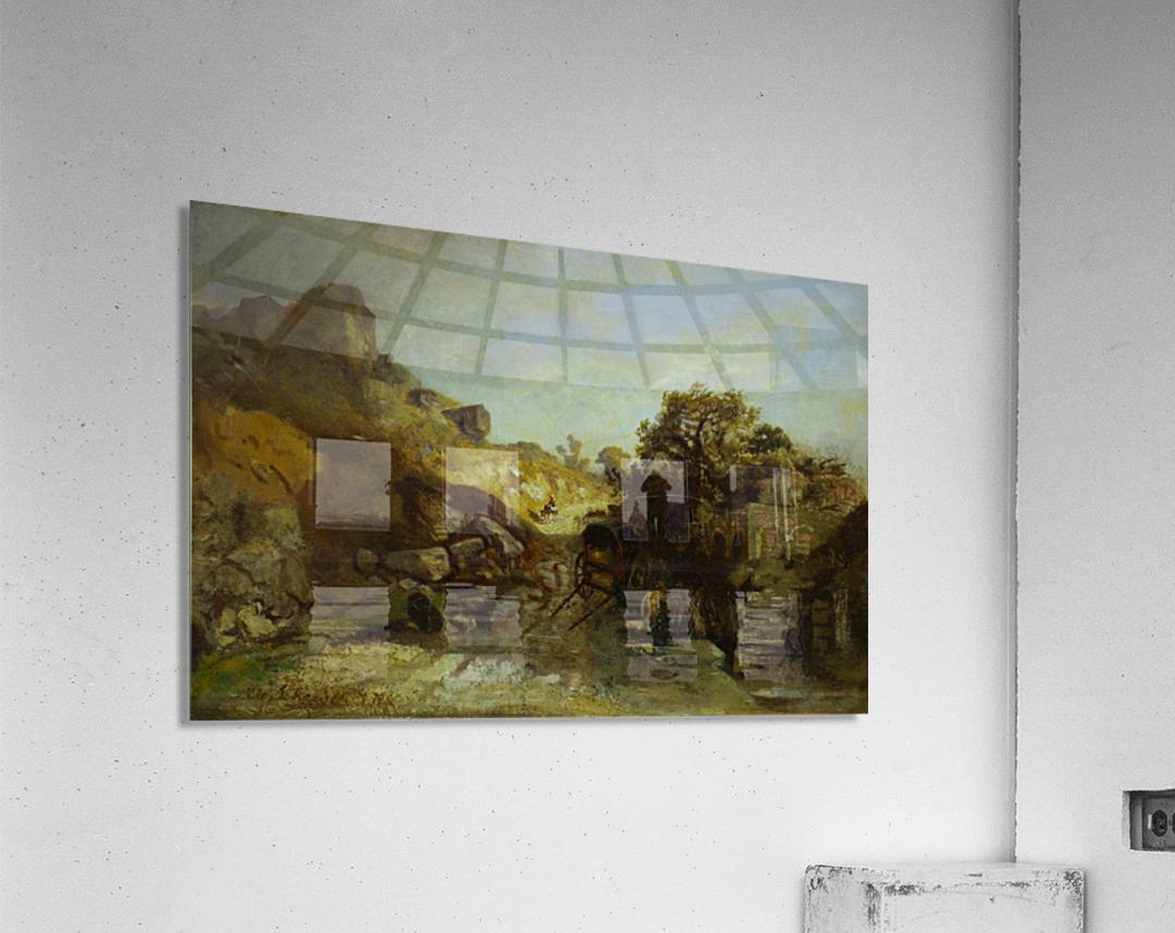 Walachische Landscape  Acrylic Print