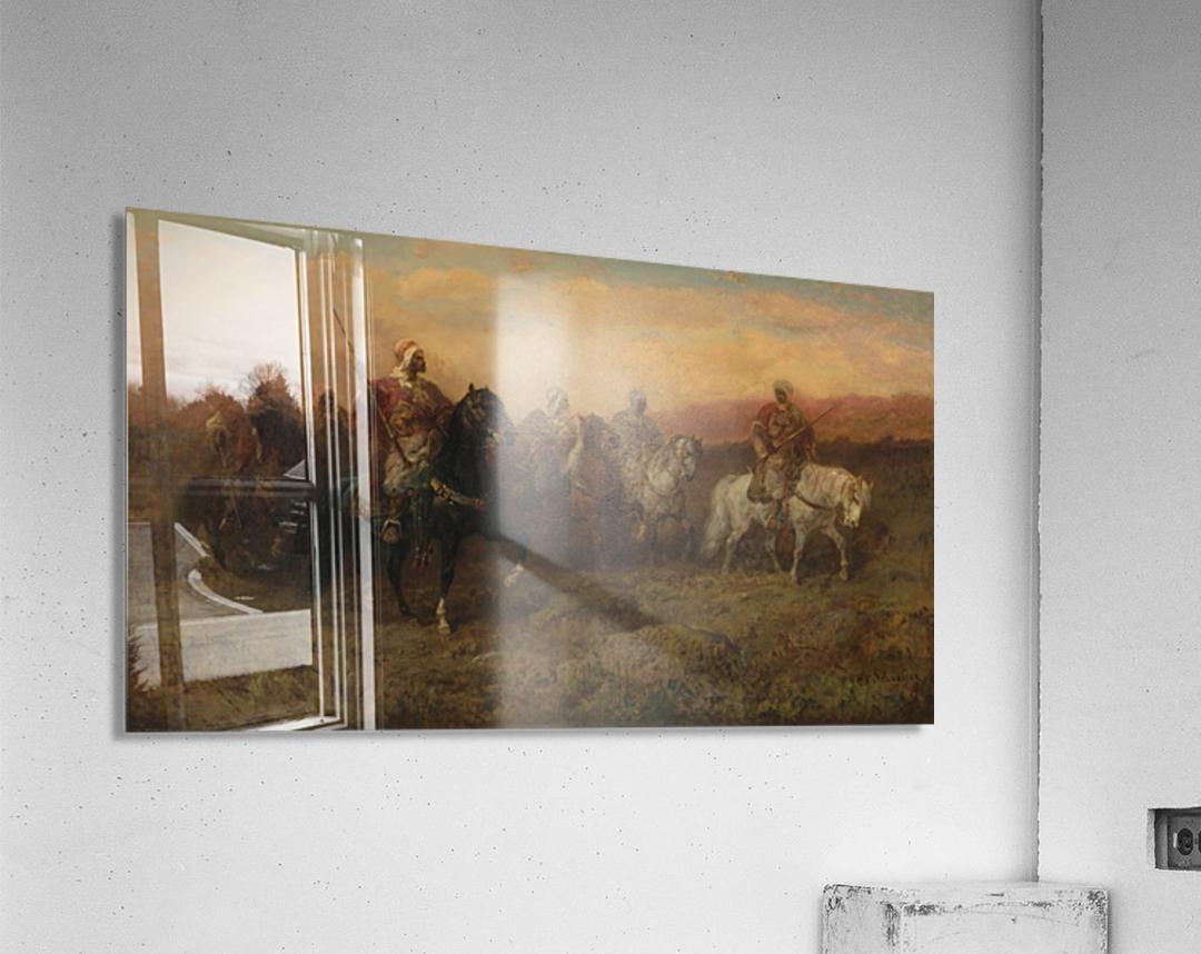 Arab patrol  Acrylic Print