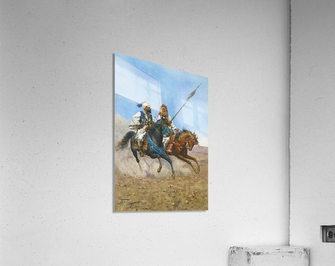 Arab riders  Acrylic Print