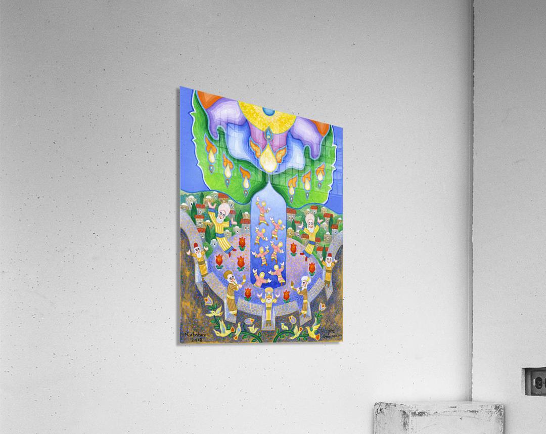 2018 074  Impression acrylique