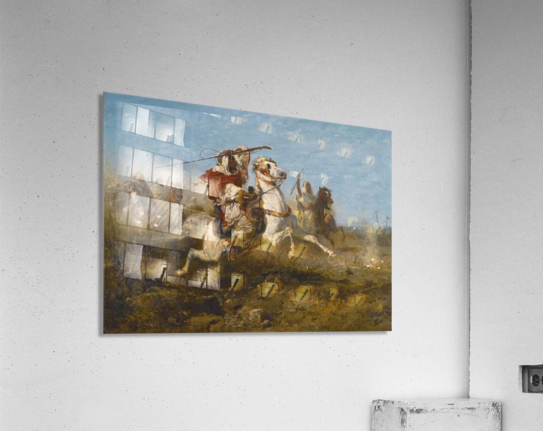 Arab raid  Acrylic Print