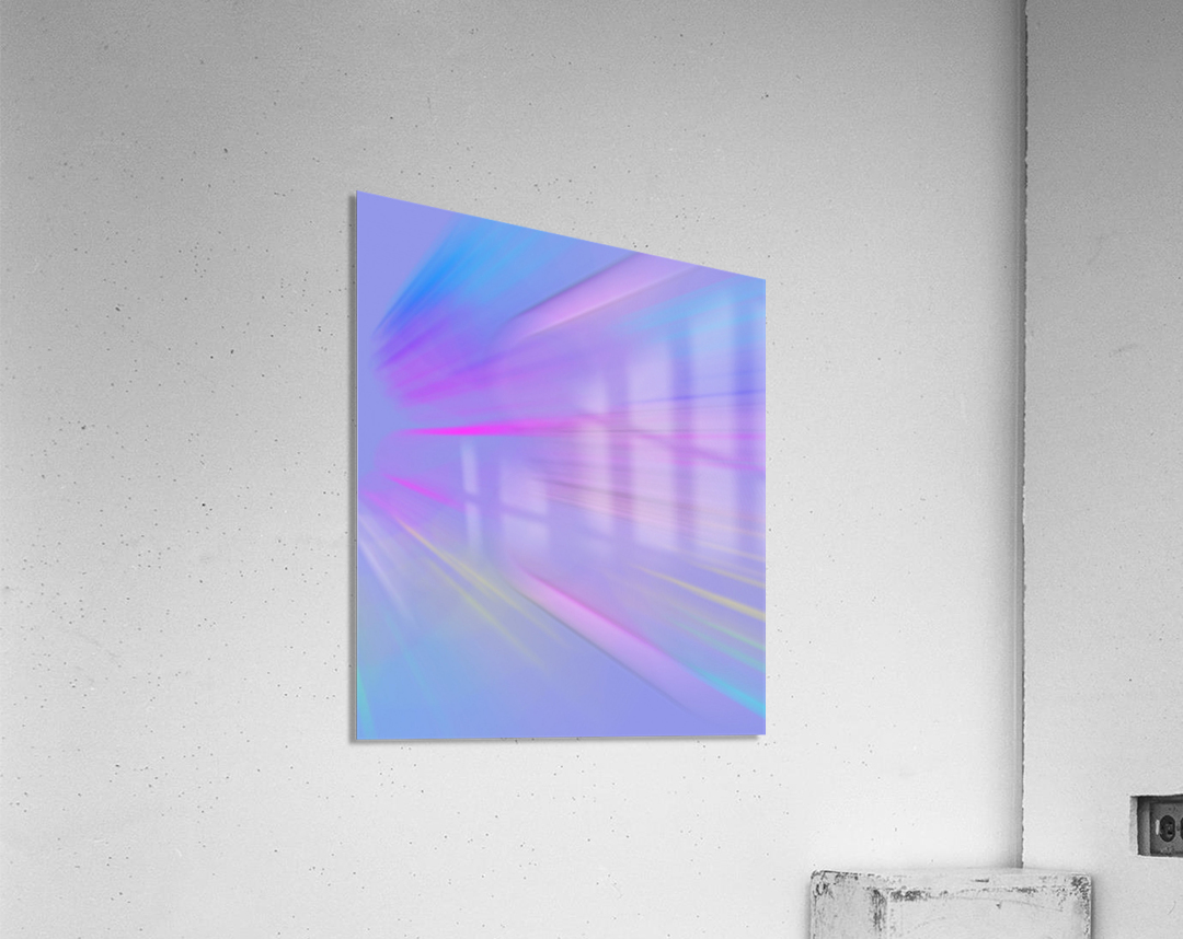 Purple Comet  Acrylic Print