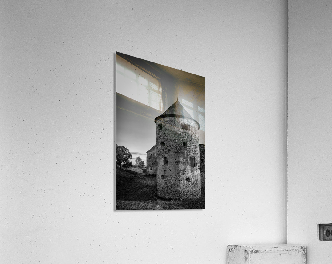 Old castle tower  Acrylic Print
