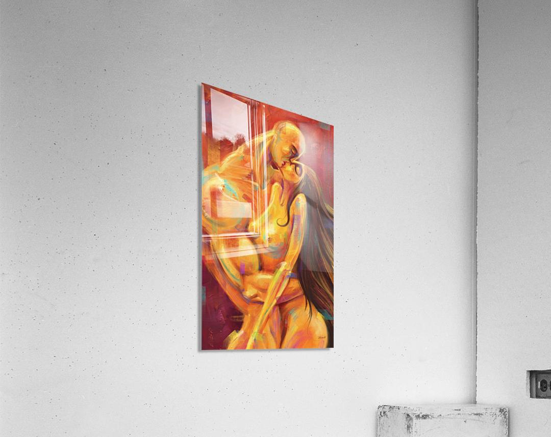 AMOR AMARILLO  Acrylic Print