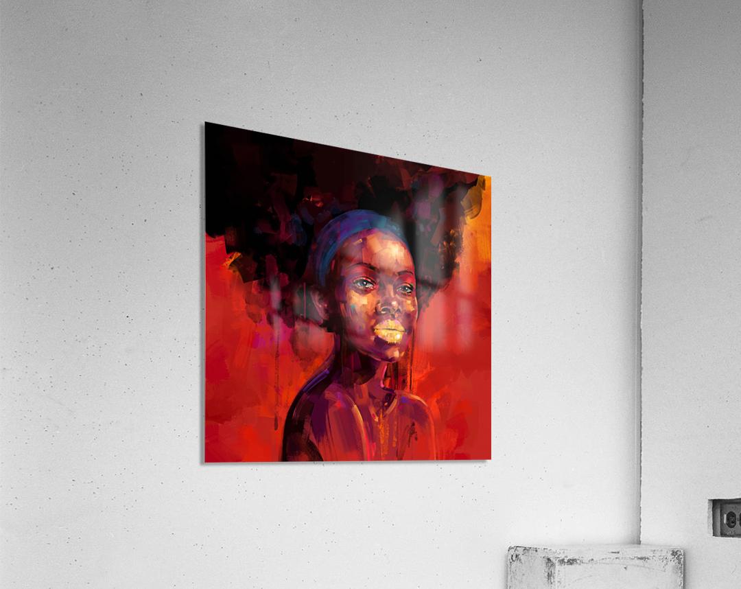 BELLEZA AFRO  Acrylic Print