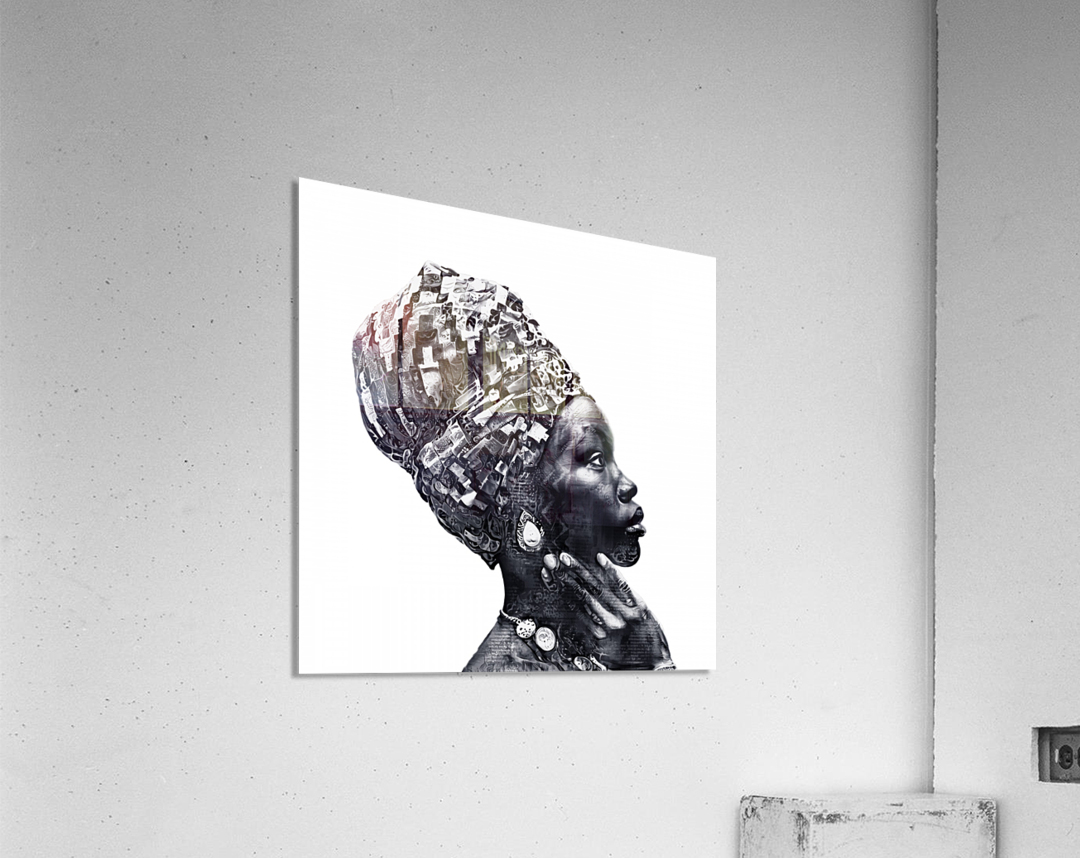 Color Through Culture III  Acrylic Print