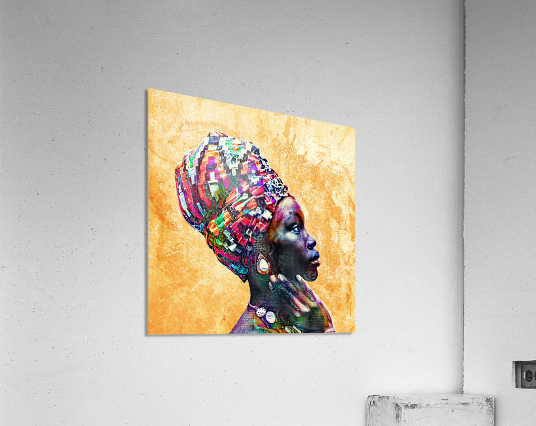 Color Through Culture I  Acrylic Print