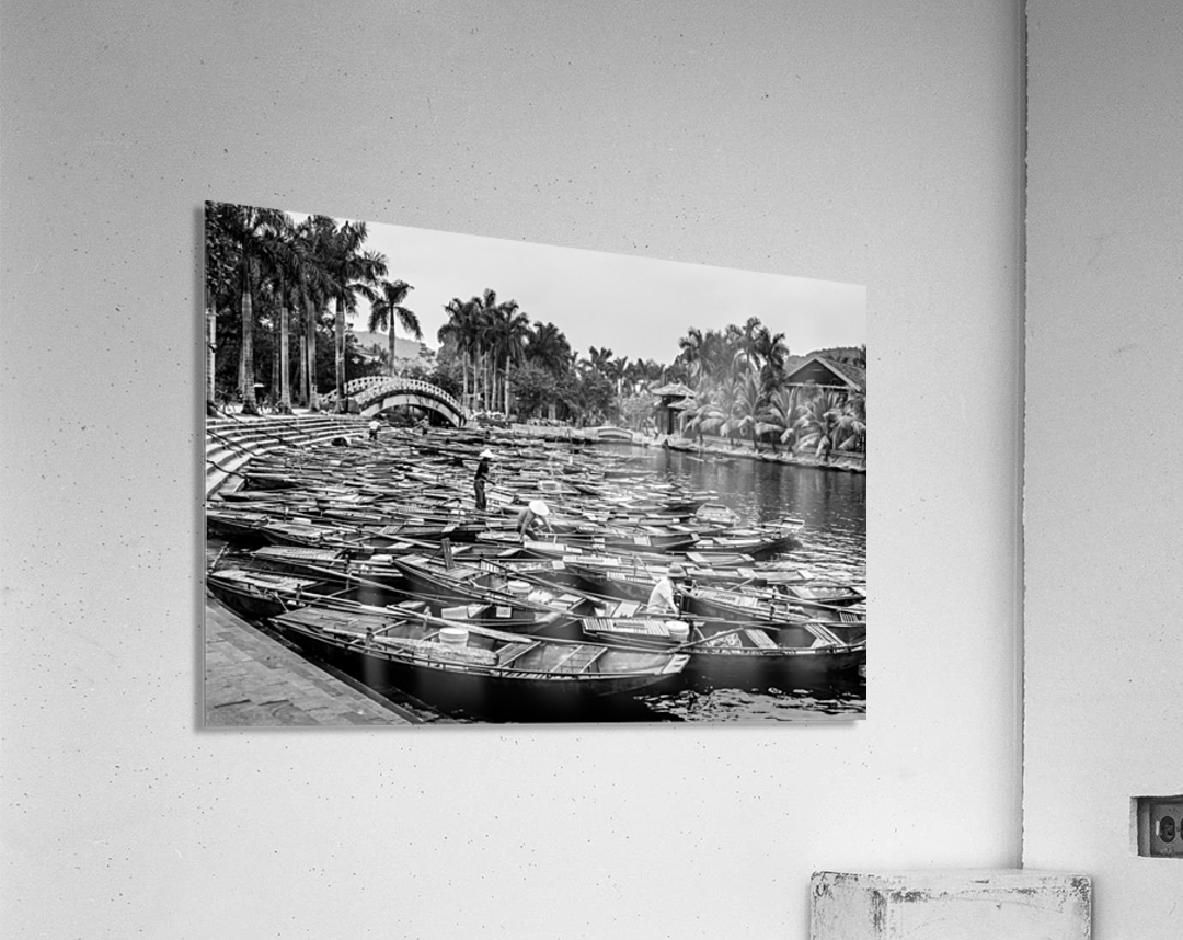 Boats in the river of Vietnam  Acrylic Print
