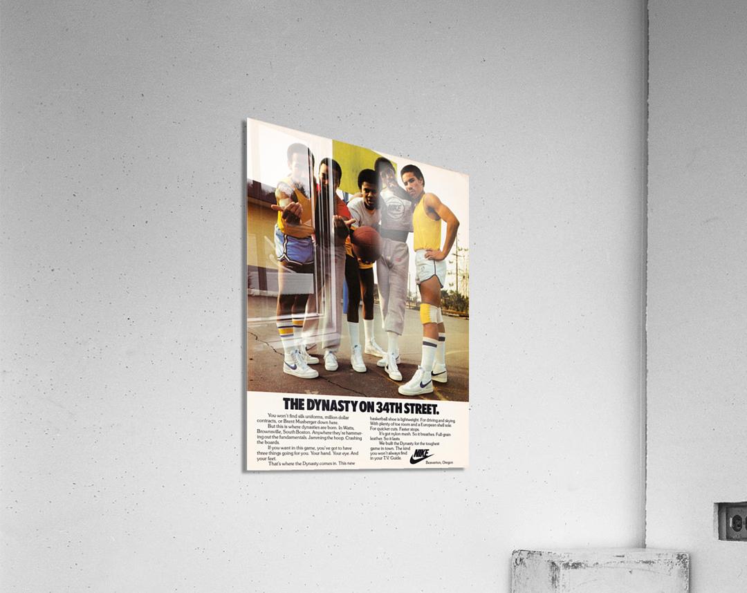1981 Nike Ad Dynasty on 34th Street  Acrylic Print