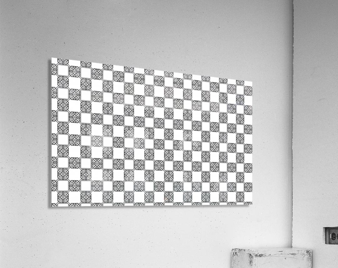seamlesstilederivativepattern  Acrylic Print