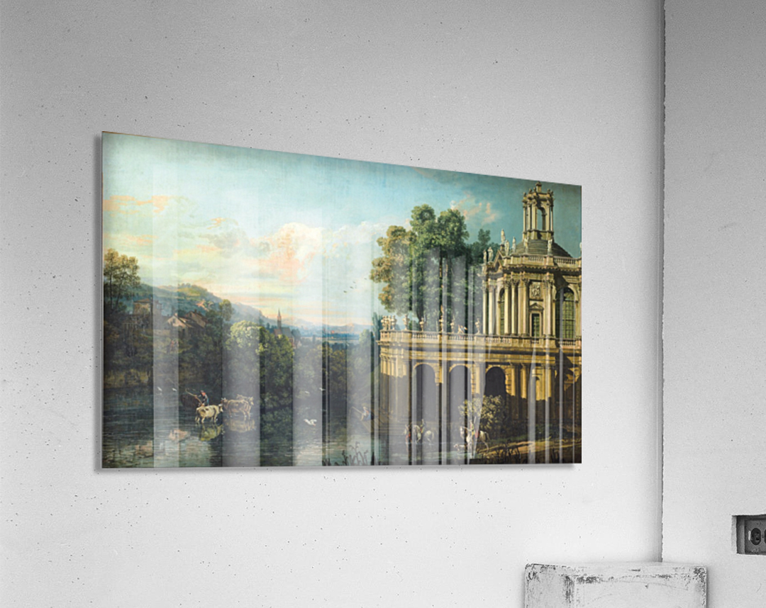 Architectural Caprice with a Palace  Acrylic Print