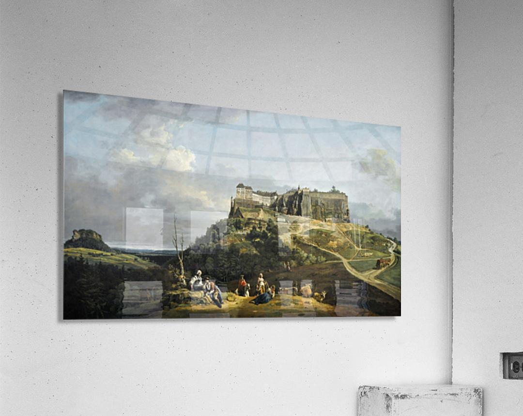 Festung Konigstein  Acrylic Print