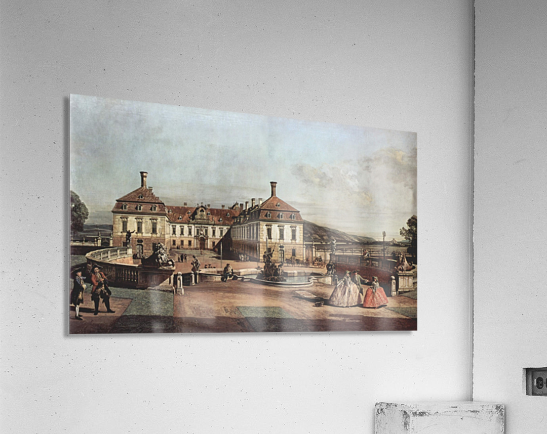 The imperial summer residence, courtyard  Acrylic Print